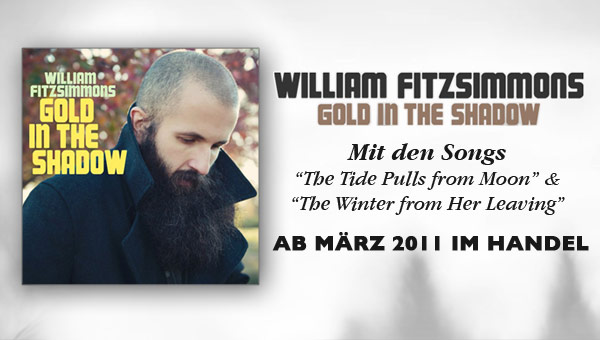 WILLIAM FITZSIMMONS 'Gold in the shadow'