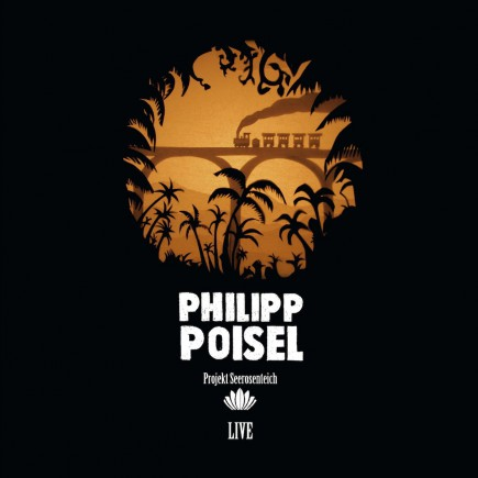"Vinyl & Buch Cover Philipp Poisel ""Projekt Seerosenteich"""