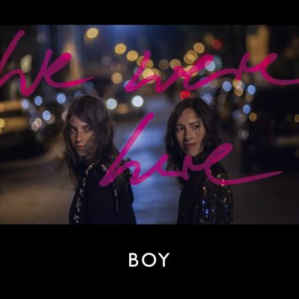 BOY - We Were Here (CD)