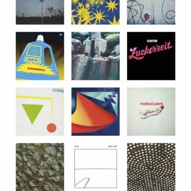 Dieter Möbius, dieter moebius, Plakat, Grönland Records, Harmonia, Cluster, Qluster, Kluster, Berlin, Grönland Records, groenland records, Düsseldorf