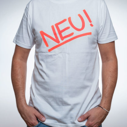 NEU!, NEU! Merch, NEU! Merchandise, T-Shirt, neu band, NEU! Band, Michael Rother, Klaus Dinger, Grönland Records, groenland records, Berlin